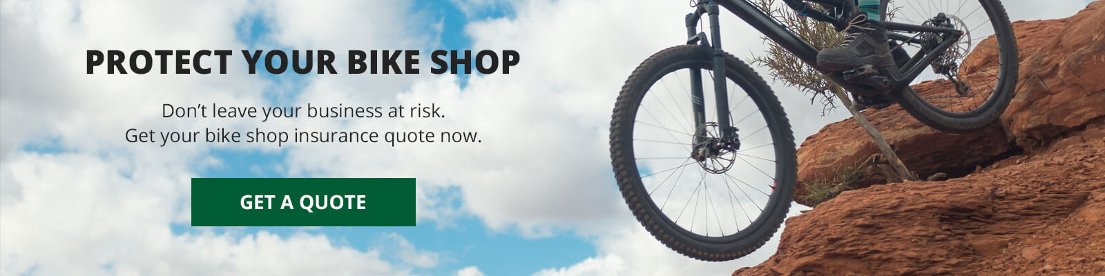 Bike Shop Insurance CTA